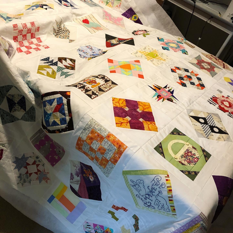 The Splendid Sampler Quilt